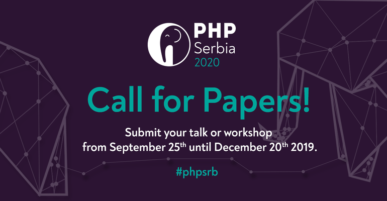 ...3, 2, 1 - go! Call for Papers is NOW OPEN!