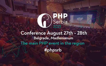 PHP Serbia 2021 is happening!