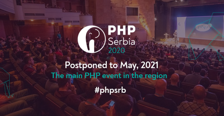 Important information regarding PHP Serbia 2020 Conference