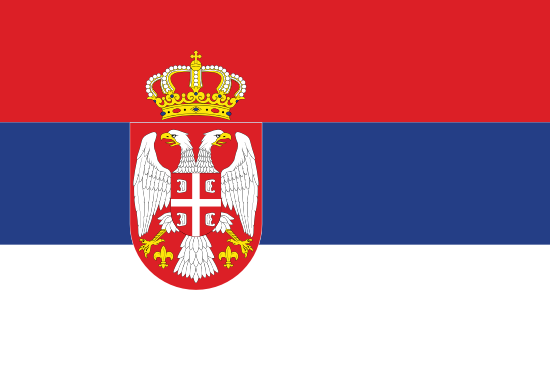 Mihailo Joksimovic's' country flag